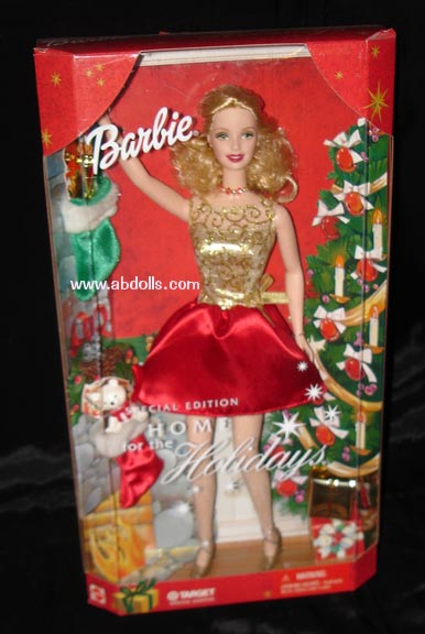 2001 Special Edition Home for the Holidays Barbie